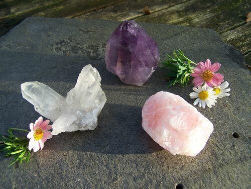 Edelstenen en mineralen.